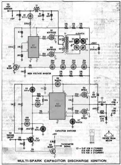 Multispark Racing Cdi Schematic With Mos